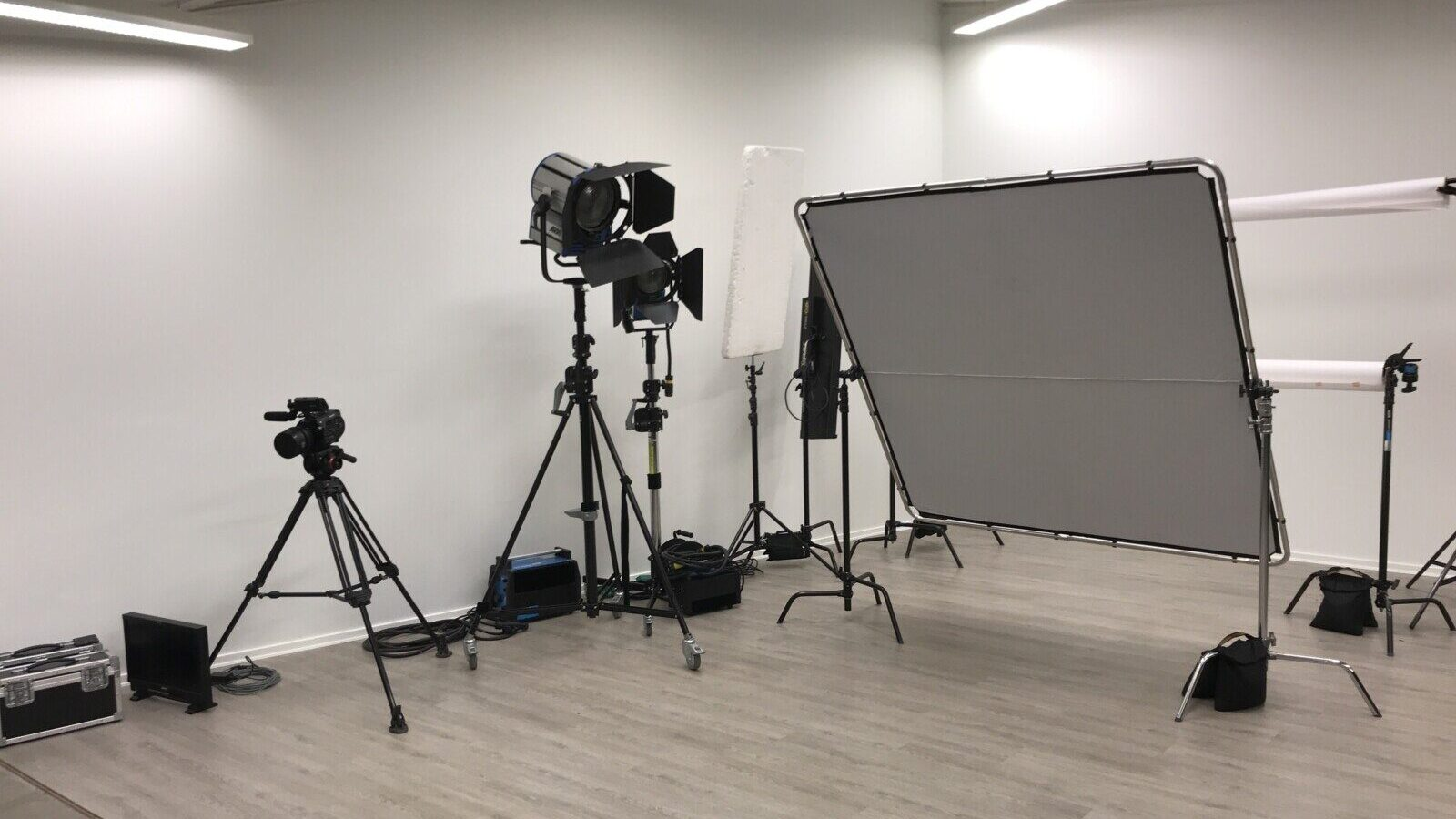 Videoproduktionsudstyr ved ISOfilm